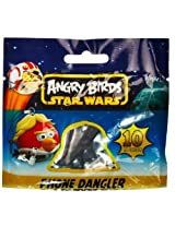 Angry Birds Han Solo Bird 0.6 Star Wars Mini-Figure Phone Dangler Series #1