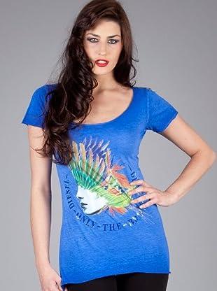 Diesel Camiseta Traflo (Azul)