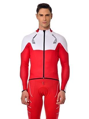 Santini Sweatjacke (Weiß/Rot)