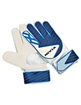 Nivia Armour Goal Keeper Gloves (White/Blue)