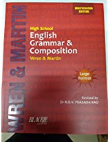 High School English Grammar and Composition by wren and martin