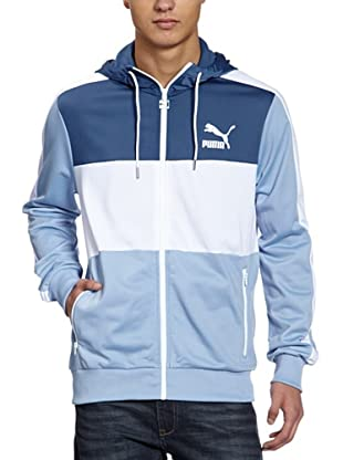 Puma Jacke Hooded Track (forever blue)