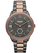 Sydney Smoke And Rose Gold Ladies Watch Es3068