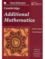 CAMBRIDGE IGCSE ADDITIONAL MATHEMATICS 0606