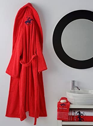 Beverly Hills Polo Club Bademantel (rot)
