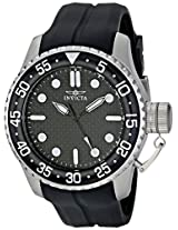 Invicta Analog Black Dial Men's Watch - 17510SYB