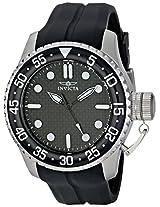 Invicta Analog Black Dial Men's Watch - 17510SYB