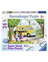 Ravensburger Going to School Floor Jigsaw Puzzle (24-Piece)
