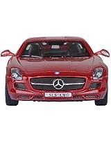 KINSMART Mercedes Benz Sls Amg- Red ...