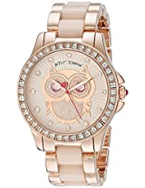 Betsey Johnson Women's BJ00246-10 Analog Display Quartz Rose Gold Watch