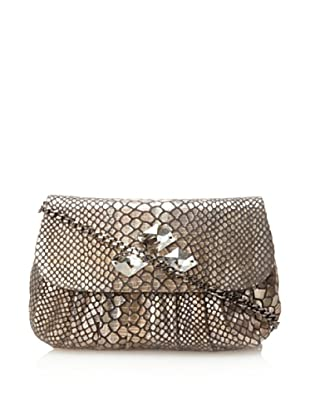 Inge Christopher Women's Angelique Crystal Clutch (Grey Multi)
