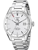 TAG Heuer Men's WAR2011.BA0723 Carrera Analog Display Swiss Automatic Silver Watch