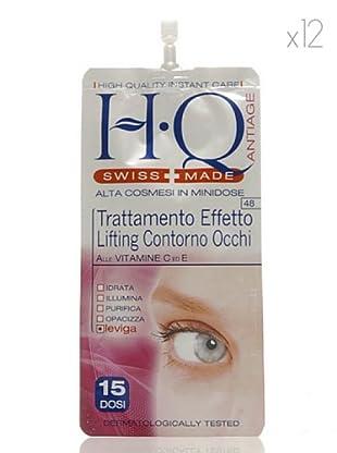 HQ Kit De 12 Productos Tratamiento Efecto Lifting Ojos 10 ml cad.