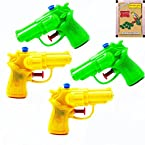 Ghasitaram Gifts Set of 4 Water Guns (Multicolour)