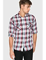Checked Multi Casual Shirt Mufti