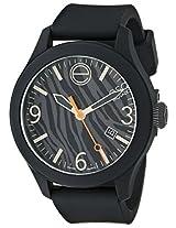 Esq Movado Esq Movado Unisex 07101445 One Analog Display Swiss Quartz Black Watch - 7101445