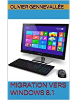 Migration vers Windows 8.1