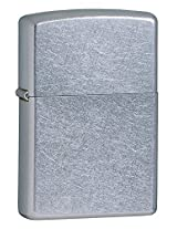 Zippo Street Chrome Pocket Lighter (Silver)