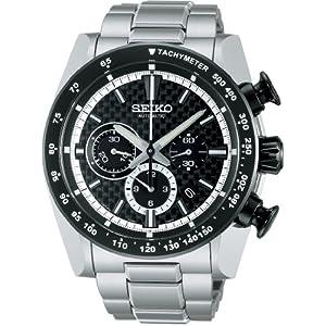 【クリックで詳細表示】[セイコー]SEIKO 腕時計 BRIGHTZ ANANTA ブライツ アナンタ メカニカル クロノグラフ バーゼル出品モデル カーボンブラック SAEK005 メンズ