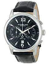 "Stuhrling Original Men's 186L.33151 ""Symphony Aristocrat"" Stainless Steel Watch with Leather Band"