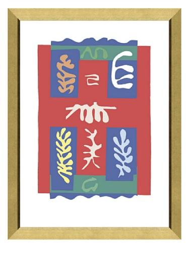 Matisse - Composition a la croix rouge, 1947, 55.3