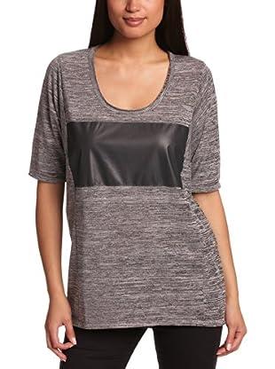 Selected Camiseta Félicie (Gris Melange)