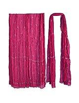 Stop Women's Dupatta (4636597_Purple_Free Size)