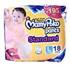 Mamy Poko pants standard Pant Style diapers Large Size Diapers (18 Count)