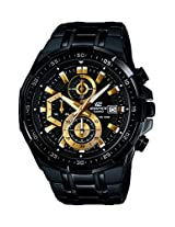 Casio Edifice Stopwatch Men's Chronograph EFR-539BK-1AVUDF (EX187)