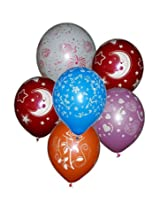 Tiger 50174 Mix of All Printed Balloon (Pack of 30)