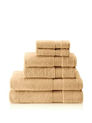 Espalma 6-Piece Signature Bath Towel Set, Camomile