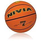 Nivia Regular Basketball, Size 7 (Red)