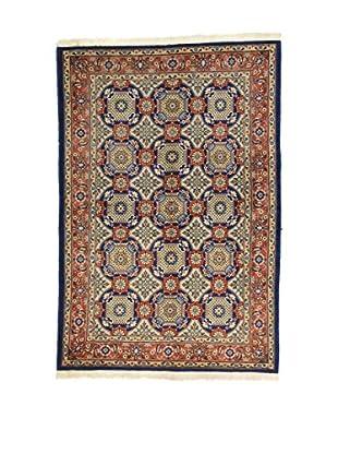 L'Eden del Tappeto Teppich Varamin blau/mehrfarbig 215t x t153 cm
