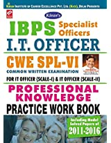 Kiran's IBPS Specialist Officer I.T. Officer CWE - VI Professional Knowledge Practice work Book - 1754