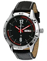 Maxima Analog Black Dial Men's Watch - 24123LMGI