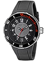 Philip Stein Men's 34-BGR-RGR Extreme Grey Rubber Strap Watch