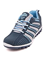 Asian Women's Navy Blue Sky Mesh DEO Range Running Shoes -7 UK