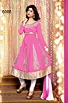 Khantil Latest New Designer Pink Fancy Anarkali Suit