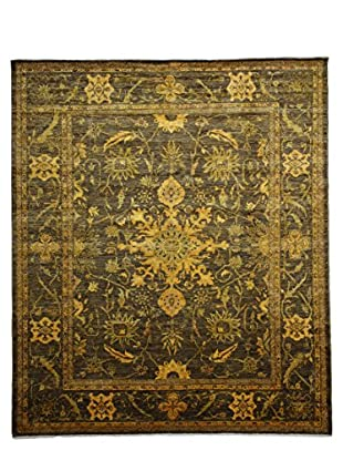 Darya Rugs Transitional Oriental Rug, Yellow, 9' 9