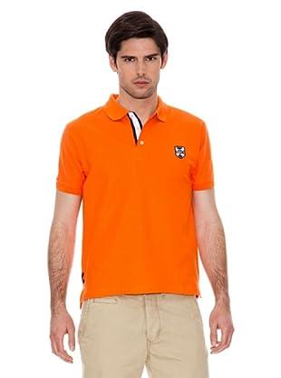 Valecuatro Polo Logo Escudo (Naranja)