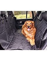 BarksBar Pet Car Seat Cover With Seat Anchors for Cars, Trucks, Suv's and Vehicles | WaterProof & NonSlip Backing