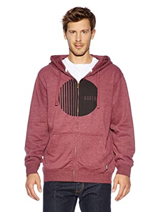 Burton Fullzip Hoodies Mns Orion Fz (heather crimson)