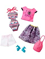 Barbie Fashion 2 Pack VII, Multi Color