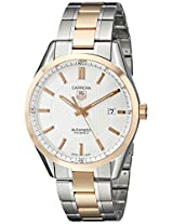 TAG Heuer Men's WV215E.BD0735 Carrera Analog Display Swiss Automatic Two Tone Watch