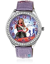 98189 Purple/Purple Analog Watch Disney