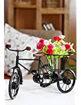 Pindia Wrought Iron Small Miniature Flower Rikshaw
