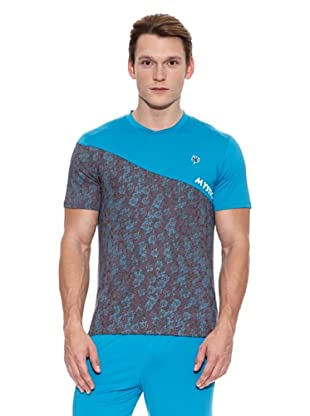 Mystica Camiseta Cayambe (Azul / Gris)