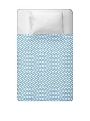 e by design Geometric Duvet Cover (Blue)