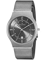 Skagen Analog Grey Dial Men's Watch - 233XLTTM