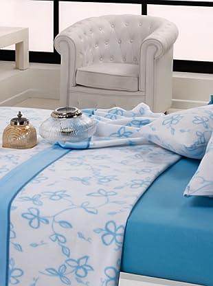 Mantas Mora Juego de sábanas TÉRMICA Azul (Azul)